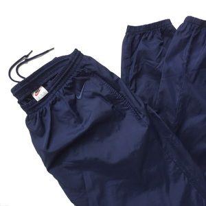 Vintage 90's Nike Windbreaker Nylon Track Pants